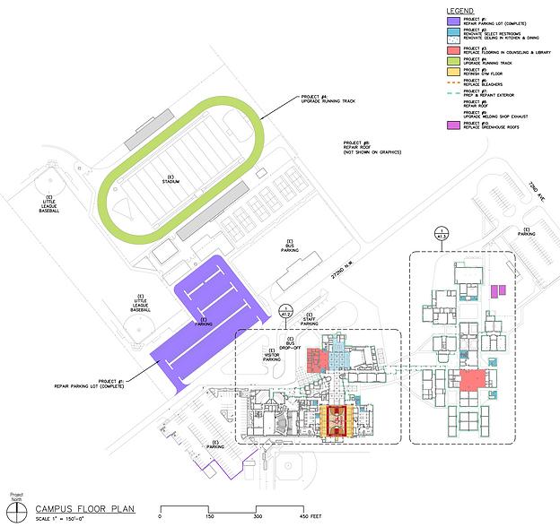Stanwood High School modernization and repair master plan - Pelletier + Schaar