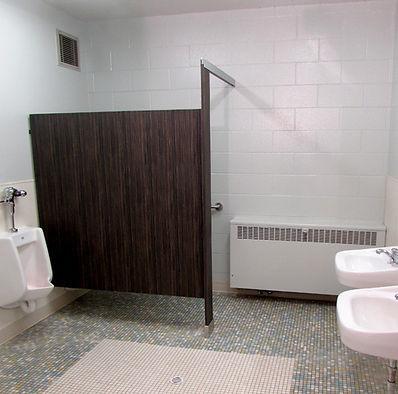 Stanwood High School refurbished restrooms - Pelletier + Schaar