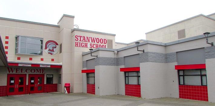 Stanwood High School exterior repaint - Pelletier + Schaar