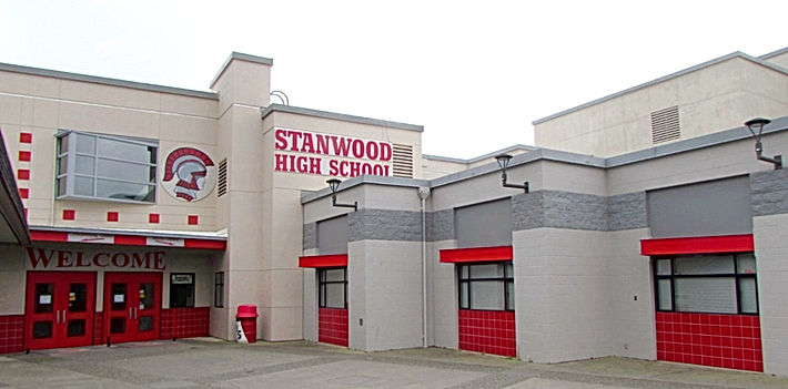 Stanwood High School exterior repaint - Pelletier + Schaar