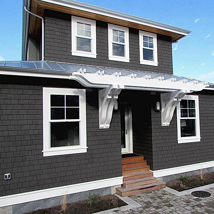 O'Neill Residence shingle style beach cottage - Pelletier + Schaar