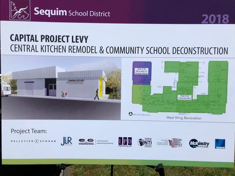 Groundbreaking: Sequim School District, Central Kitchen