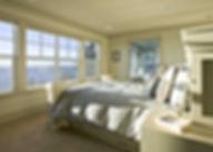 Ruebel House traditional master bedroom - Pelletier + Schaar