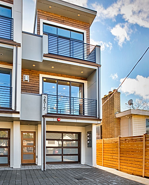 Ballard townhomes first floor plan - Pelletier + Schaar