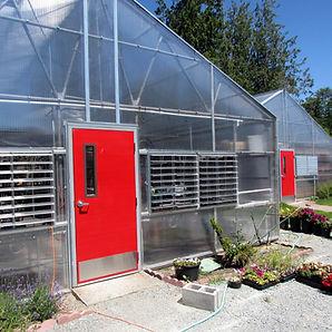 Stanwood High School reglazed greenhouses - Pelletier + Schaar