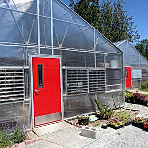 Stanwood High School reglazed greenhouses - Pelletier + Schaar