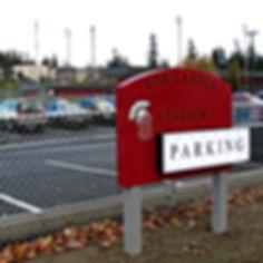 Stanwood High School resurfaced and restriped student parking - Pelletier + Schaar