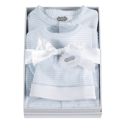 Blue Layette Set