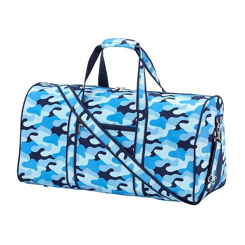 Blue Camo Duffle