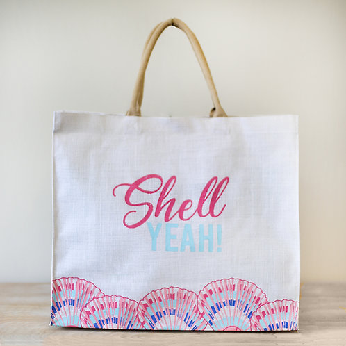 Shell Yeah Beach Bag