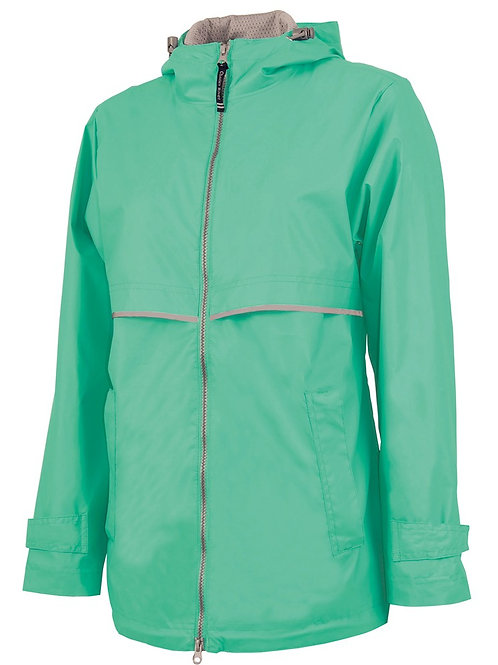 Mint Rain Coat