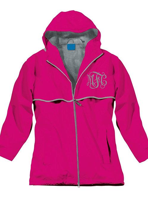 Hot Pink Rain Coat