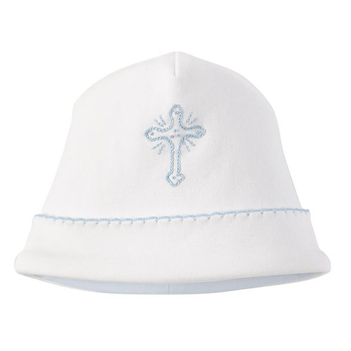 Blue Cross Baby Hat