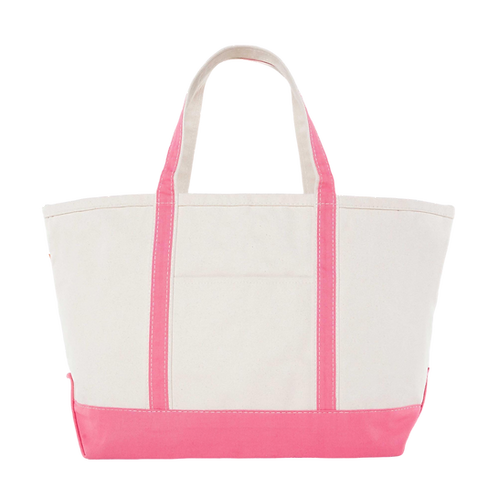 Coral Boater Tote