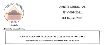 arrete reglementant le bruit de voisinage juin 2021.PNG