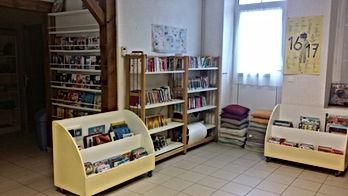Interieur bibliothèque Bannost-Villegagnon