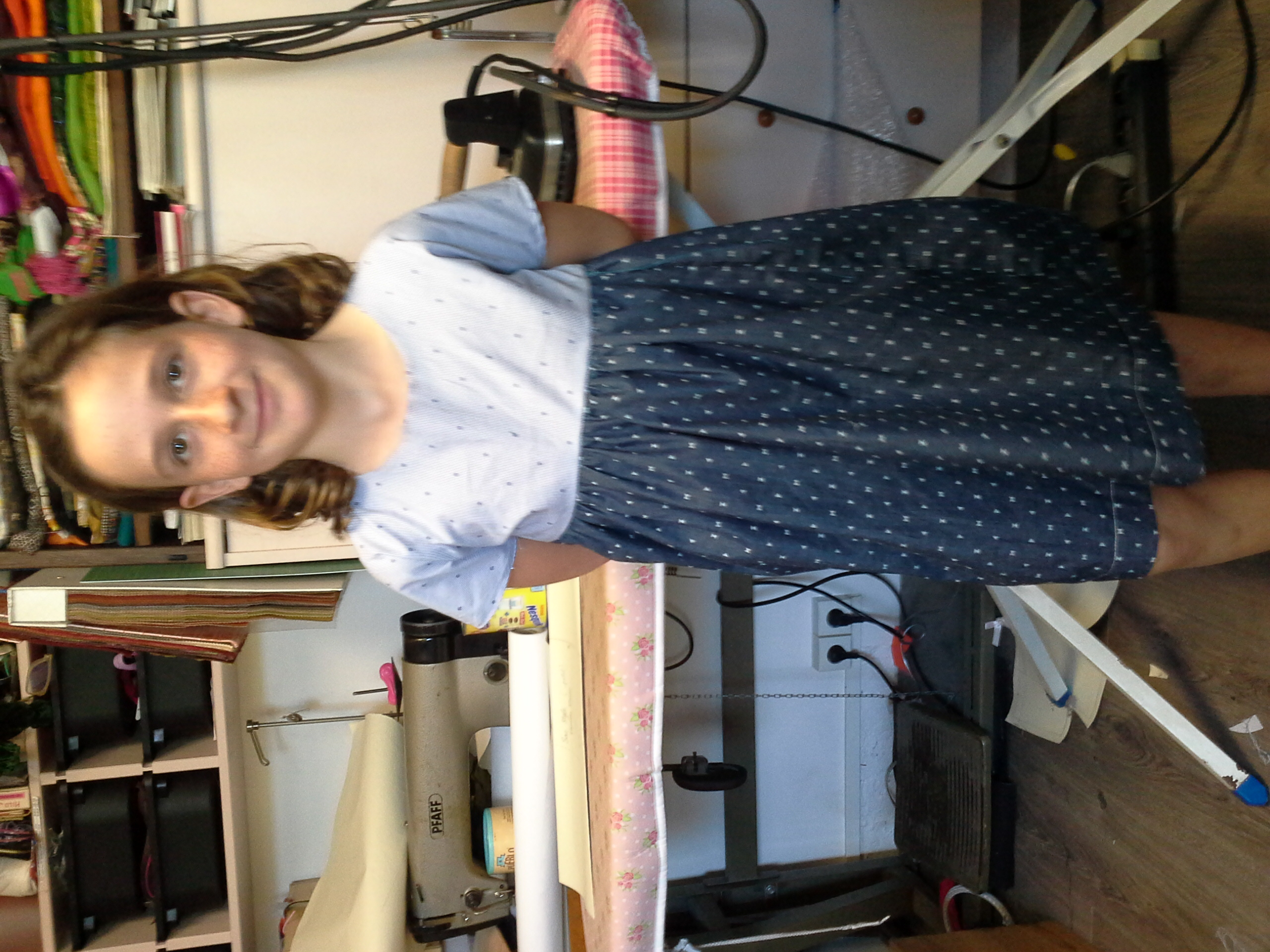 Stage - Robe réalisée par Margot