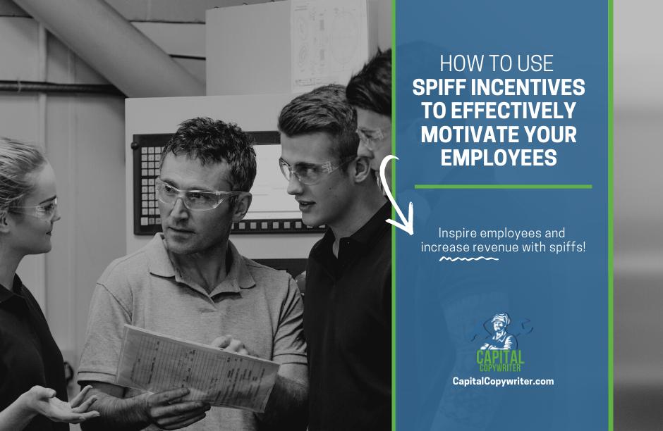 Spiff Incentive Ideas