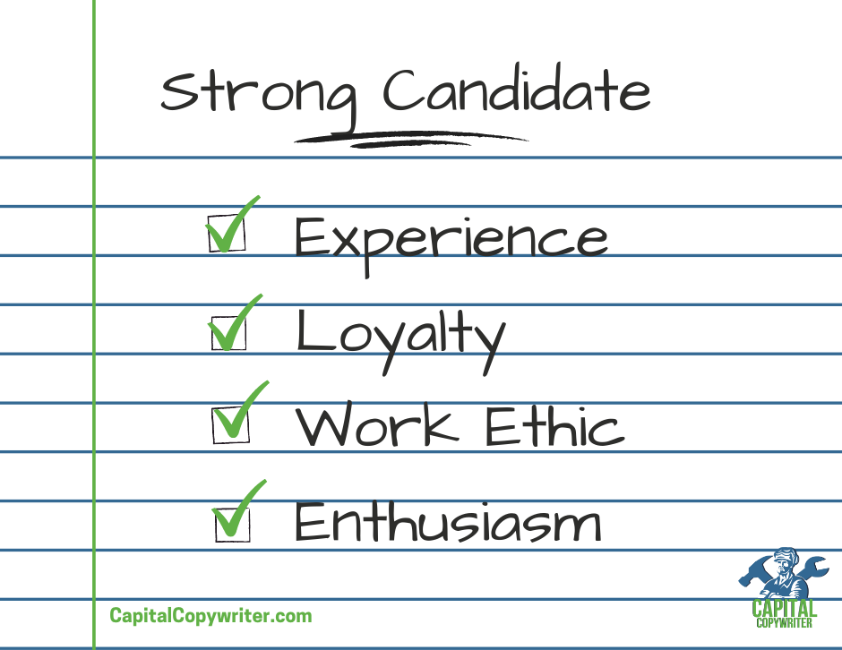 characteristics to look for on a resume