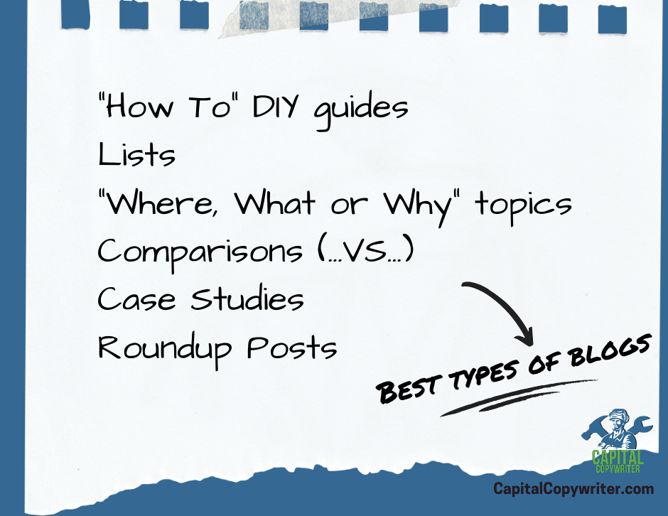 Best types of blogs