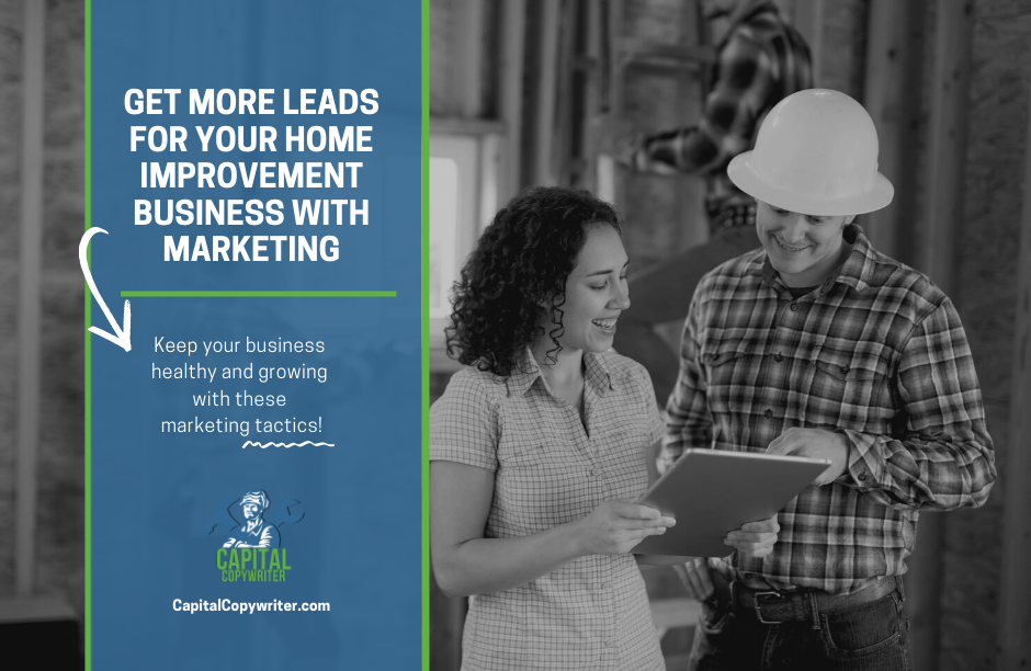 Marketing for home improvement business