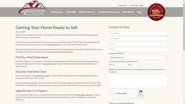 Custom Home Builder Blog Post