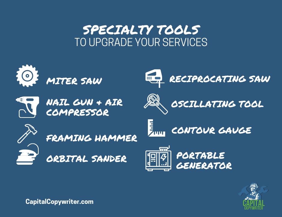Handyman Specialty Tools