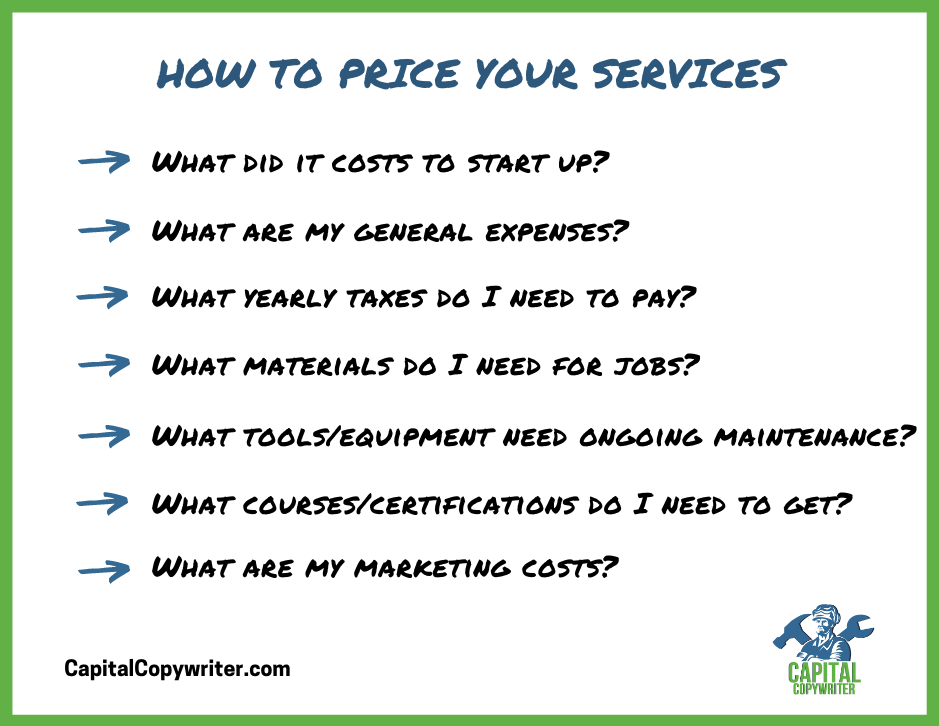 Pricing Considerations: How to price services
