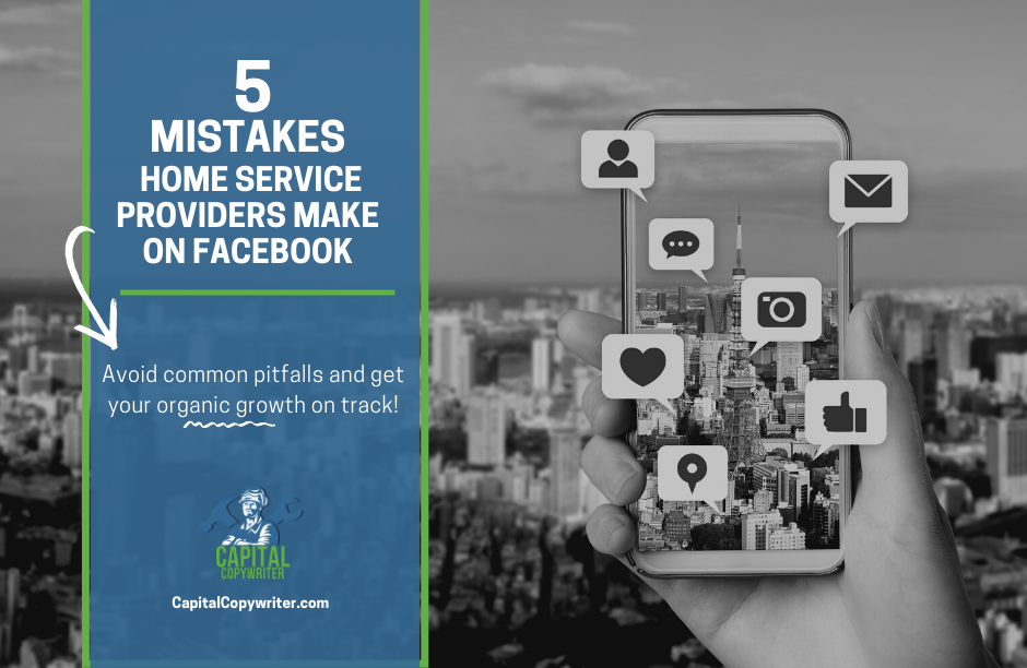 5 Mistakes Home Service Providers Make On Facebook