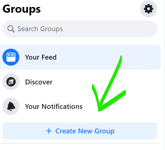 How to create a new Facebook Group