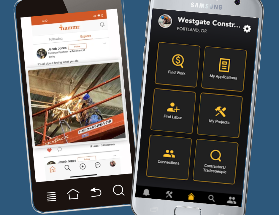 platforms for hiring in construction and other trades