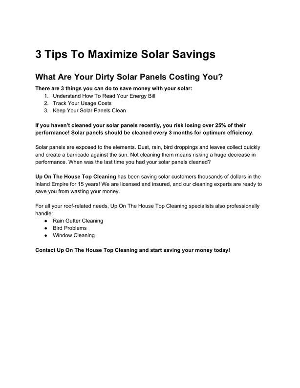 Solar Service Sales Ad