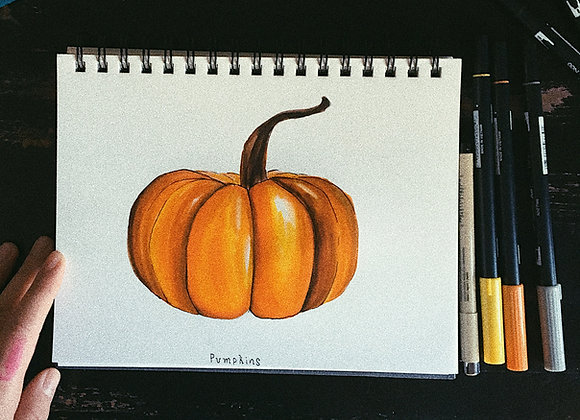 Pumpkin Rag (piano solo)