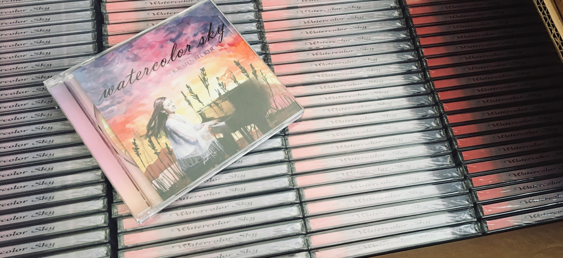 Audio CDs are in!