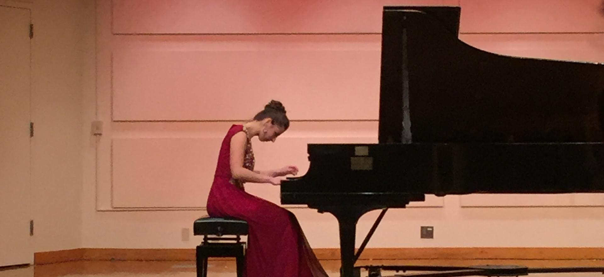 College Junior Piano Recital