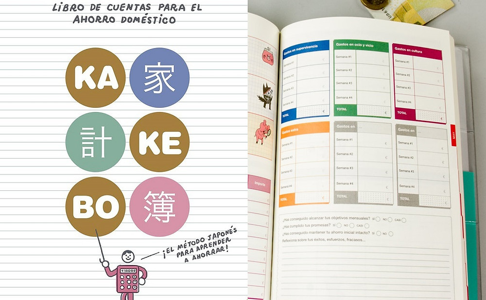 kakebo, control de gastos, ahorro, kakeibo