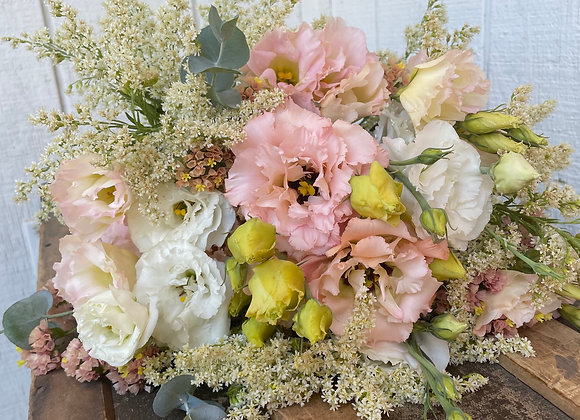 Lisianthus Paper Wrapped Bouquet (Sunday Pick Up)