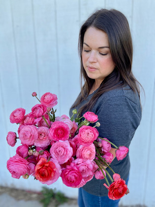 Rose Ranuculus