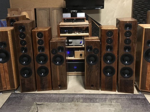 "Athena Series 8"" Loudspeakers"