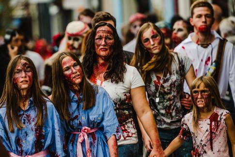 Carytown Zombie Walk RVA