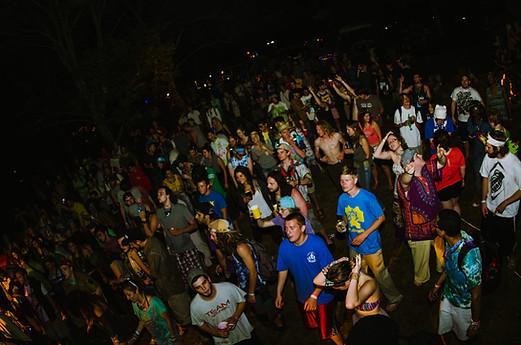Cosmic Campout Crowd