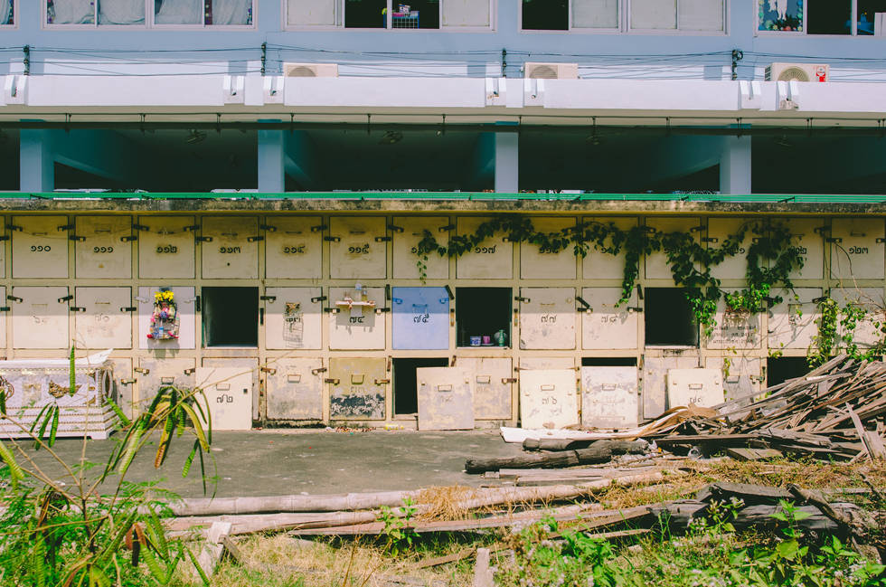 Abandoned school in Thailand