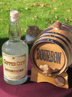 Moonshine and 2 liter