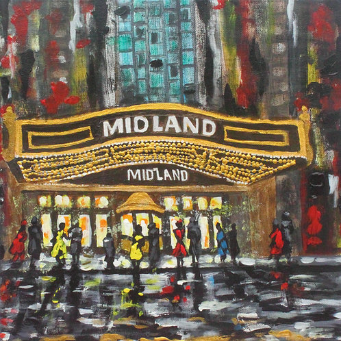 Kansas City Theater Series -  Five CANVAS PRINTS to choose from