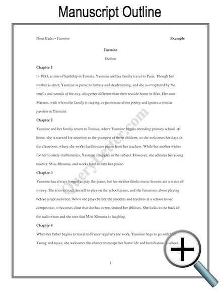 Example manuscript outline