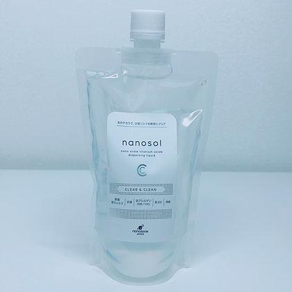 300ml. Refill Bag   Nanosol CC by Nanozone Japan