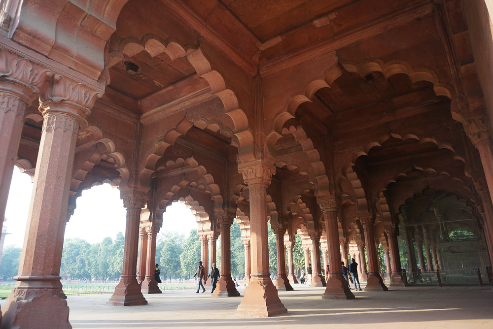 THe Red Fort in Delhi