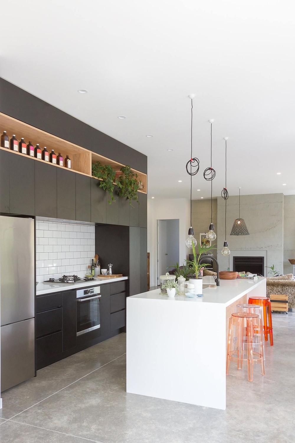 A Victoria Read Architecture designed kitchen in Greytown