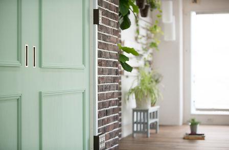 グリーンの戸棚