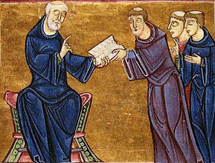 St._Benedict_delivering_his_rule_to_the_